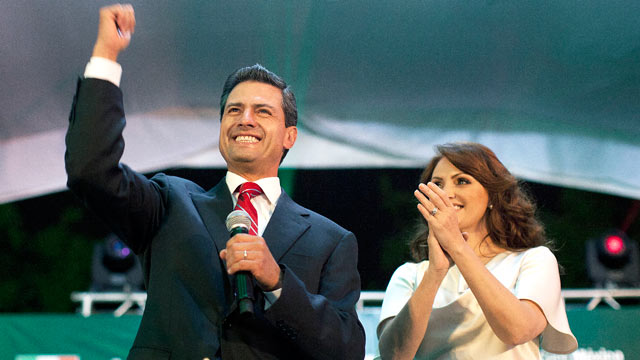 PHOTO: Enrique Pena Nieto