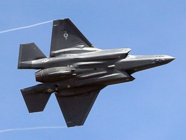 Air Force base halts flights of F-35s after pilots report 'hypoxia-like symptoms'