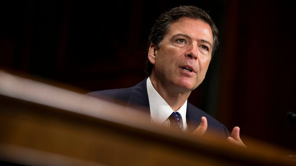 PHOTO: FBI Director nominee James Comey testifies on Capitol Hill