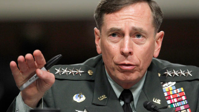 PHOTO: Gen. David Petraeus testifies before the Senate Armed Services Committee on Capitol Hill in Washington, June 29, 2012.