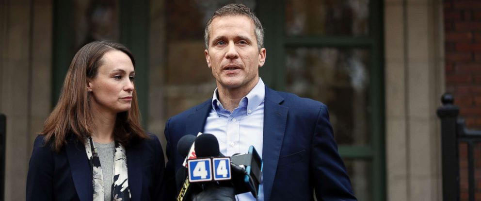 Eric Greitens >> Missouri Gov Eric Greitens I Cheated On My Wife In 2015 Abc News