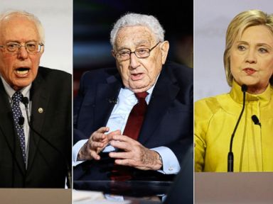 Sanders Attacks Clinton's Relationship With Henry Kissinger