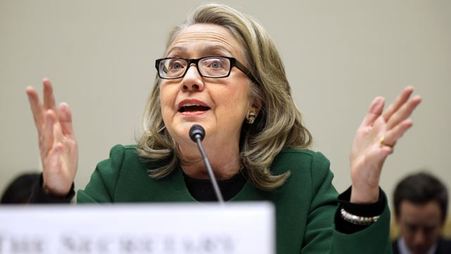PHOTO: Secretary of State Hillary Rodham Clinton testifies on Capitol Hill, Jan. 23, 2013, before the House Foreign Affairs Committee.