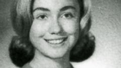 PHOTO: Hillary Rodham is shown in her 1965 senior class portrait from East High School in Park Ridge, Ill.