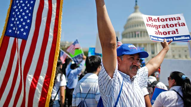 Immigrants Descend on DC for Reform
