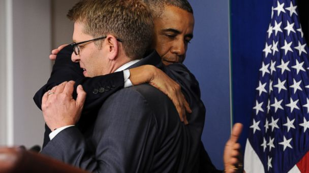 ap jay carney obama kb 140530 16x9 608 A Look Back: 5 Memorable Moments at Jay Carney Pressers