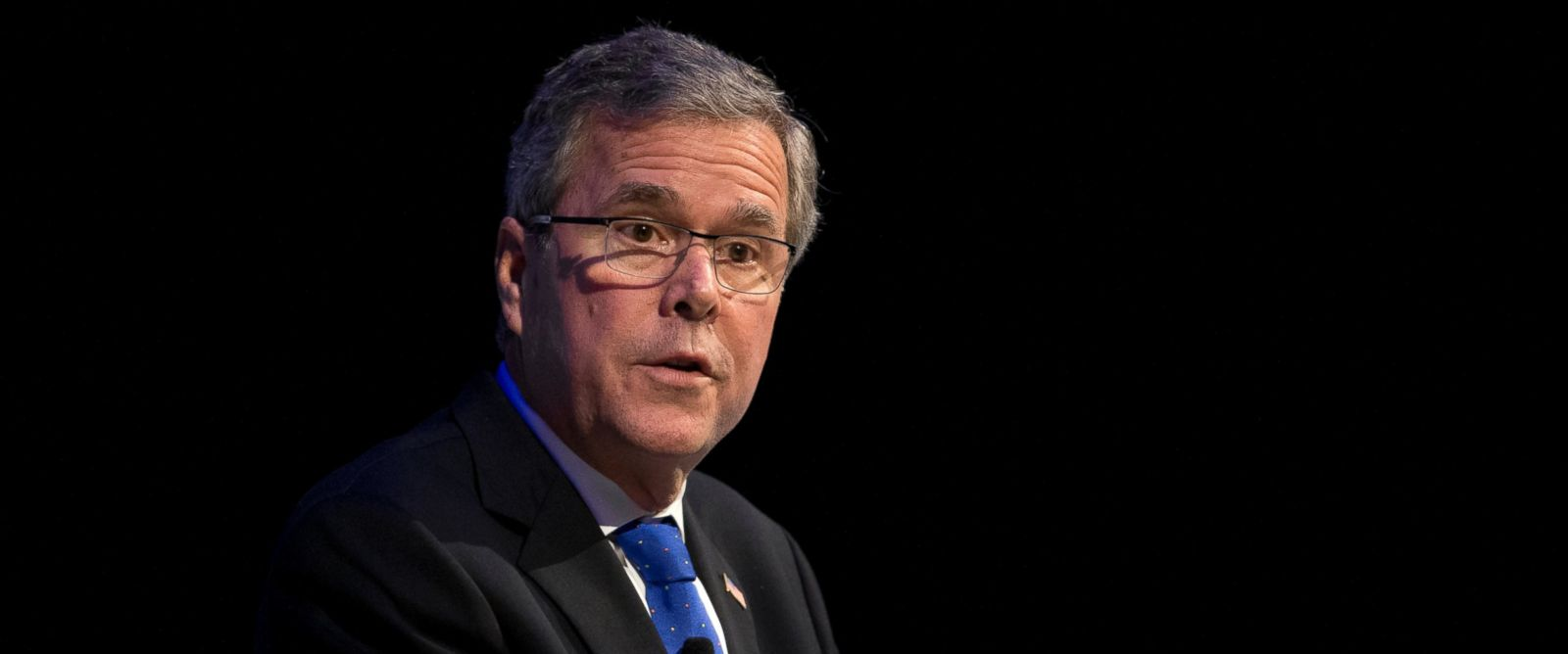 PHOTO: Former Florida Gov. Jeb Bush speaks at a Economic Club of Detroit meeting in Detroit, Feb. 4, 2015.
