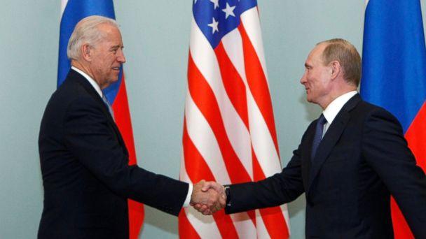 ap joe biden vladimir putin jc 140721 16x9 608 Close Encounters With Vladimir Putin: What Joe Biden And George W. Bush Saw