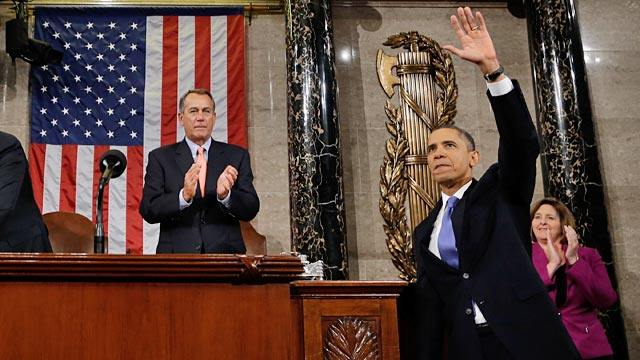 PHOTO: John Boehner and Barack Obama