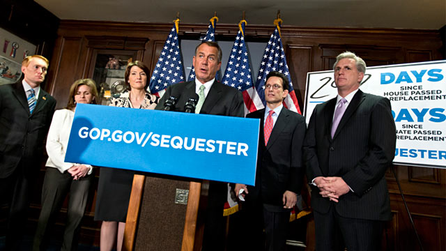 PHOTO: John Boehner and GOP leaders