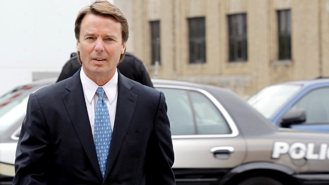 PHOTO: Former senator John Edwards arrives at a federal courthouse in Greensboro, N.C., May 8, 2012.