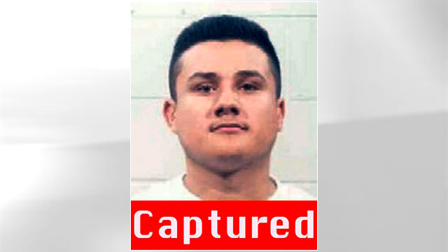 PHOTO: Jose Luis Saenz was taken into custody by t