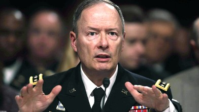 PHOTO: Gen. Keith B. Alexander, commander, U.S. Cyber Command and director,
