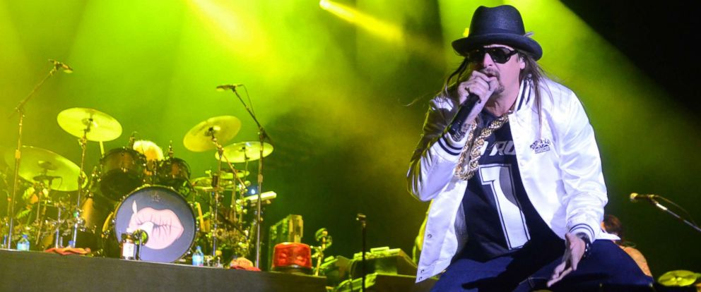 PHOTO: May 14, 2017: Singer and songwriter Kid Rock performs during the Northern Invasion Music Festival in Somerset, Wisconsin. Ricky Bassman/Cal Sport Media