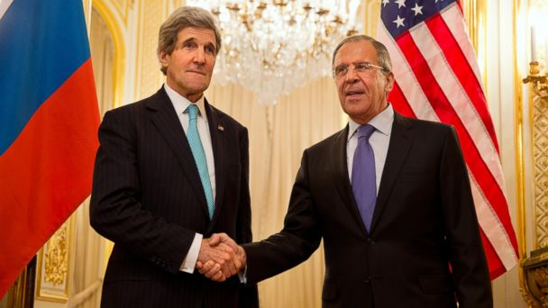 ap lavrov kerry kb 140416 16x9 608 What To Expect From Thursdays Russia/Ukraine Talks (Spoiler: Not Much)