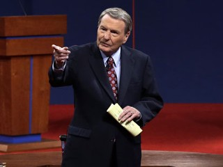 Veteran Moderator Jim Lehrer the Debate's Biggest Loser?