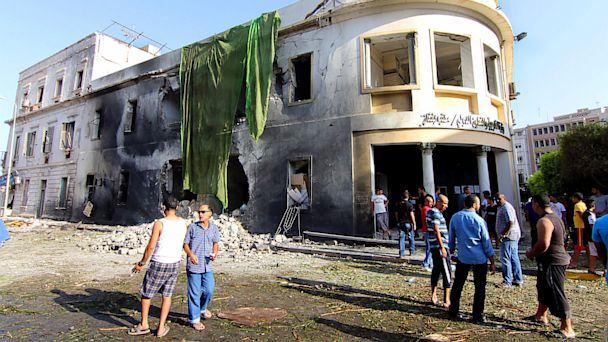 ap libya benghazi kb 130912 16x9 608 State Dept. Condemns Benghazi Explosion Amid New Criticism on Attack Anniversary