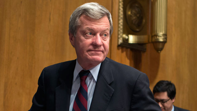 PHOTO: Sen. Max Baucus, D-Mont., is seen on Capitol Hill in Washington, April 17, 2013.