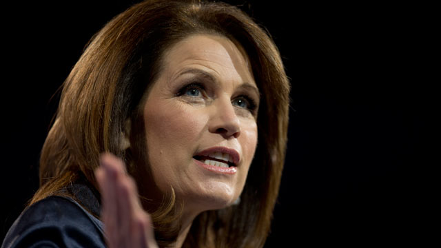 PHOTO: Rep. Michelle Bachmann, R-Minn., speaks at the 40th annual Conservative Political Action Co