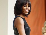 Michelle Obama Participates in Day of Service