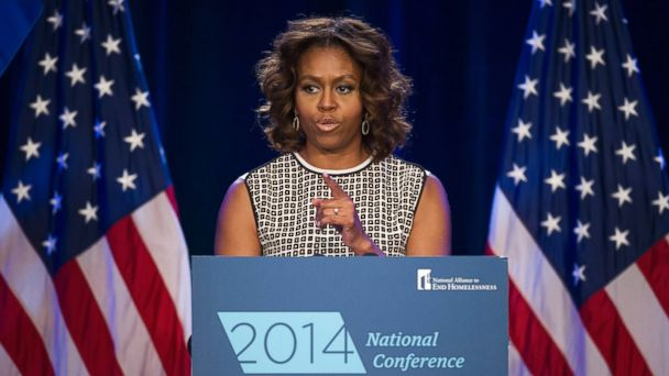 ap michelle obama kb 140731 16x9 608 Michelle Obama: Veteran Homelessness Should Horrify Us