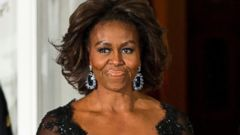 Michelle Obamas Surprise State Dinner Fashion Statement