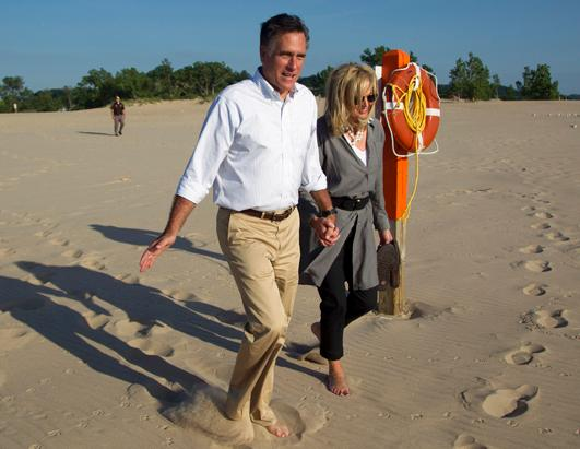 The Romney's on Vactaion