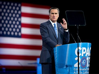 Mitt Romney Admits 'Mistakes' in CPAC Speech