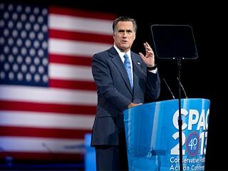 Mitt Romney Admits 'Mistakes' in CPAC Speech
