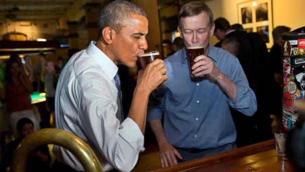 ap obama bear 140708 16x9 608 Obama The Bear Lets Loose in Denver