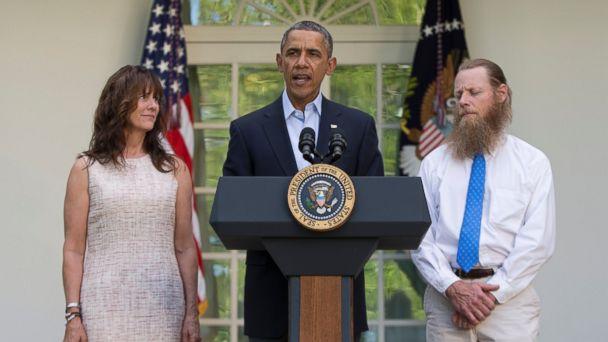 ap obama bergdahl 140531 16x9 608 Taliban Captive Was Never Forgotten, Obama Says