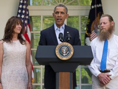 Taliban Captive Bergdahl 'Was Never Forgotten,' Obama Says