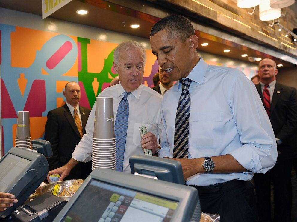 PHOTO: President Barack Obama and Vice President Joe Biden