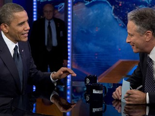 Obama Defends Libya Response on 'Daily Show'