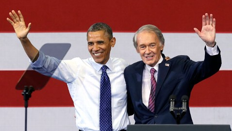 ap obama markey nt 130611 wblog Obama Stumps for Principled Ed Markey in Massachusetts Senate Run
