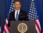 President Barack Obama talks about national security, May 23, 2013, at the National Defense University at Fort McNair in Washington.