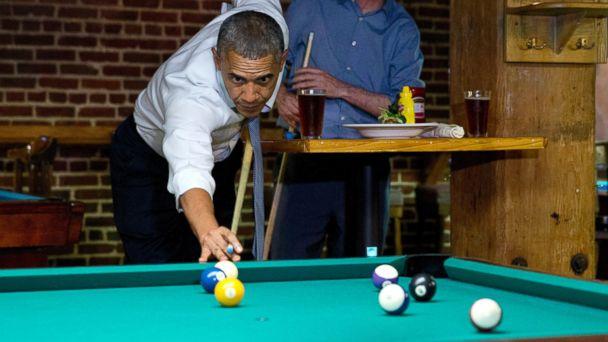 ap obama pool 140708 16x9 608 Obama The Bear Lets Loose in Denver