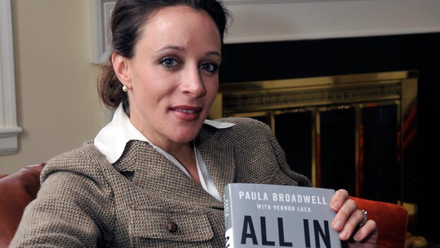 "PHOTO: Paula Broadwell, author of the David Petraeus biography ""All In,"" poses for photos in Charlotte, N.C., Jan. 15, 2012."