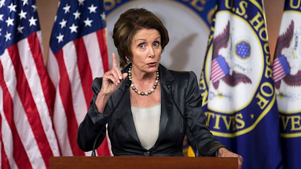 ap pelosi shutdown Kb 131004 16x9 608 Nancy Pelosi Calls Obamacare A Winner For Democrats in 2014