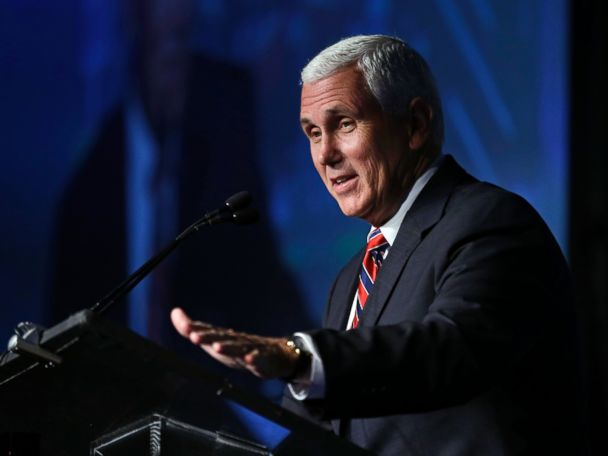 Pence Rally Interrupted by Protesters, a First for His Campaign