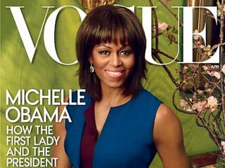Photos: FLOTUS Shines on Vogue for 2nd Time
