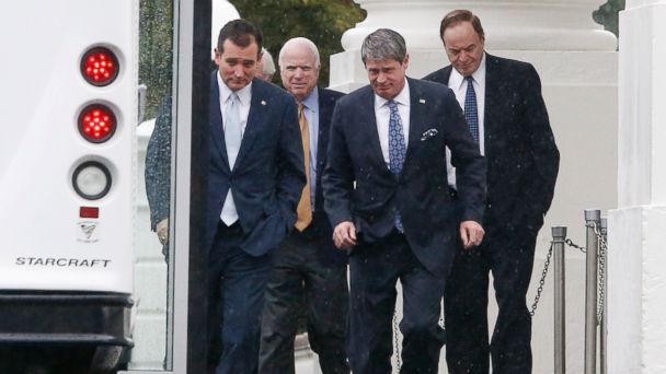 ap republicans leaving white house ll 131011 16x9 608 Coming up on This Week: Latest on the Shutdown Showdown
