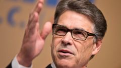 PHOTO: Republican presidential candidate, former Texas Gov. Rick Perry, speaks at the Road to Majority 2015 convention in Washington, June 20, 2015.