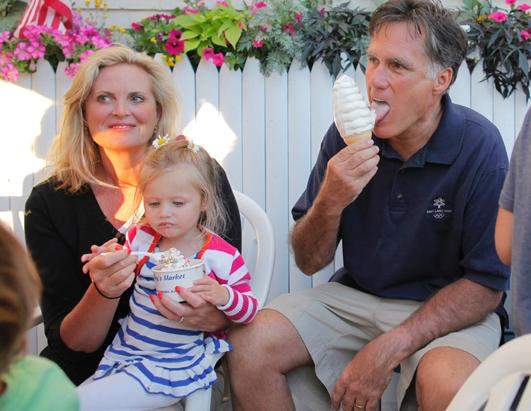 abcnews reports romney brood vacation holidays generally playing