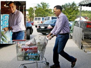 Photos: What's for Dinner? Romney Shops for Groceries