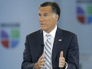Romney: Campaign Is 'About the 100 Percent'