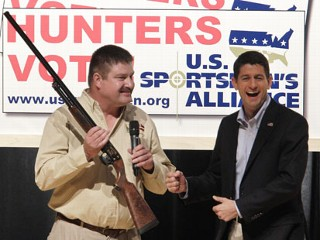 Ryan Tells Hunters Thought of 2nd Obama Term Makes Him 'Shudder'