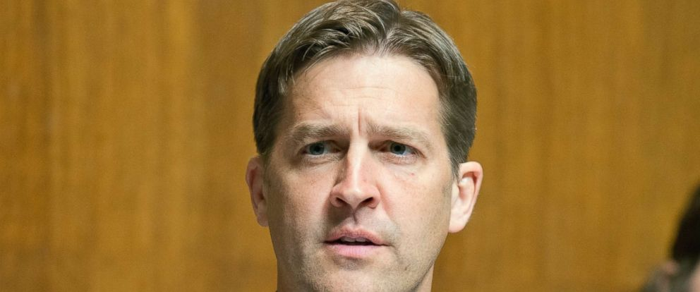 PHOTO: Senator Ben Sasse on Capitol Hill in Washington, DC on Wednesday, June 21, 2017.