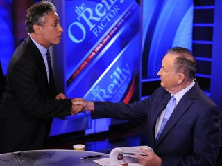 Stewart, O'Reilly Spar in DC 'Rumble'