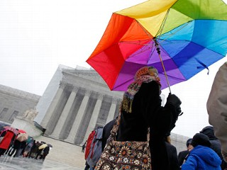 Supreme Court Hears Landmark Gay-Marriage Case